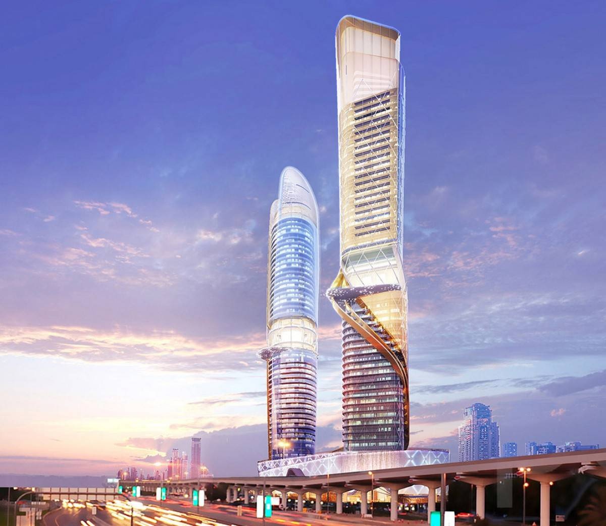 В Дубае строят небоскреб с тропическим лесом внутри (фото)