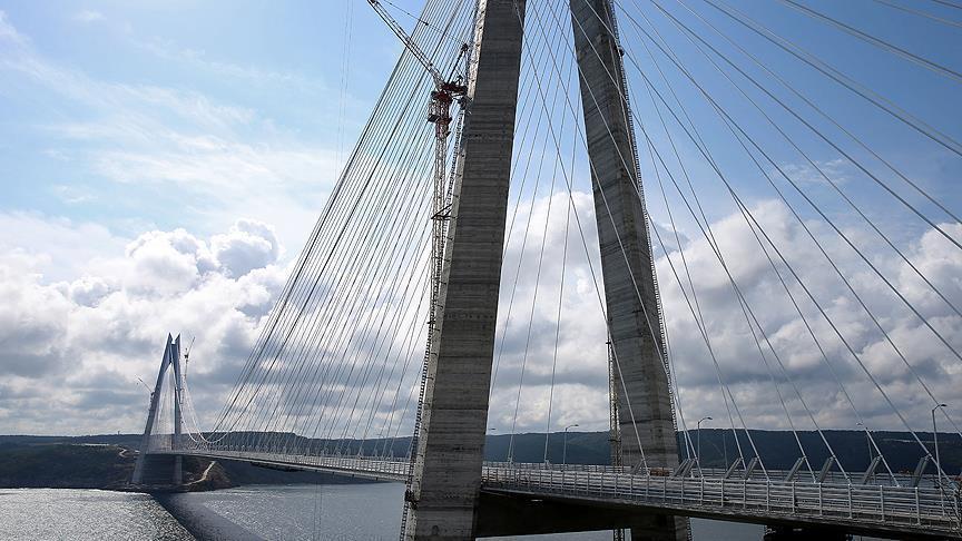 В Стамбуле построили рекордный мост через Босфор