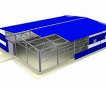 Быстровозводимые здания от компании Viton