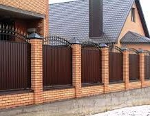 Забор — самые дешевые и самые дорогие материалы для ограждения