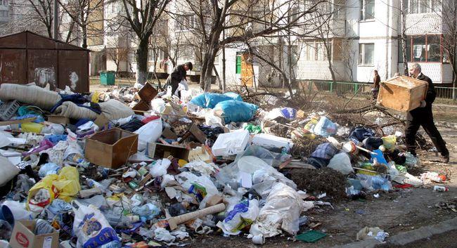 Україна посідає перше місце у світі за кількістю сміття на душу населення